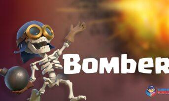 همه چیز درباره کارت Bomber در بازی کلش رویال