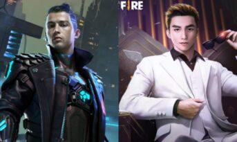 مقایسه کاراکتر Skyler و chrono در بازی فری فایر