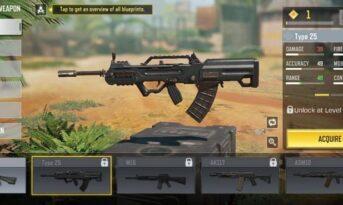 بهترین سلاح های AR رقابت های multiplayer کالاف دیوتی موبایل
