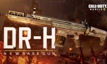 بهترین اتچمنت ها برای اسلحه DR-H بازی کالاف دیوتی موبایل