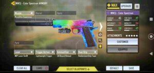 بررسی تخصصی اسلحه MW11 در بازی کالاف دیوتی موبایل