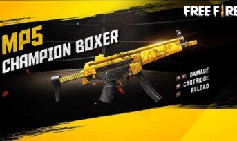 اسلحه MP5 در بازی فری فایر اسلحه MP5 فری فایر بازی فری فایر