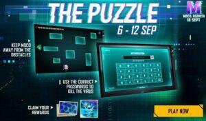 اموزش شرکت در ایونت پازل puzzle فری فایر