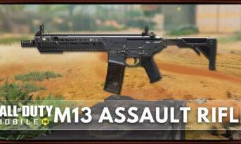 معرفی اتچمنت های اسلحه M13 در بازی کالاف دیوتی موبایل